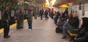 In the winter time we share in the subway system, and we reach people from all over the world!