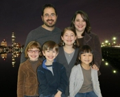 We are the Sohmer Family: Mark, Shelby, Vivienne, Juliana, Caleb, and Gabriella.