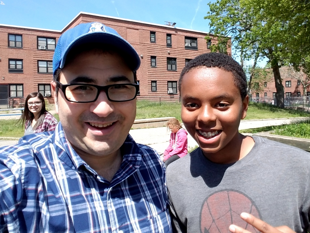 This is DJ, an amazing kid I met 7 years ago, and he's still following Jesus! I blogged about him at: http://luke-15.org/2017/06/the-boy-with-the-firemans-helmet-7-years-later/