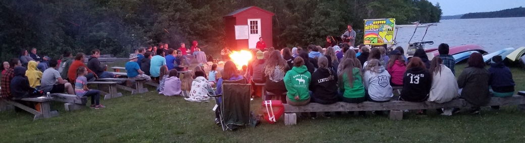 A night-time campfire service. What a wonderful way to close out a super week at camp. Kids shared testimonies of how Jesus changed their lives, we sang praise songs, and I got to teach a Bible lesson one last time. Hallelujah!