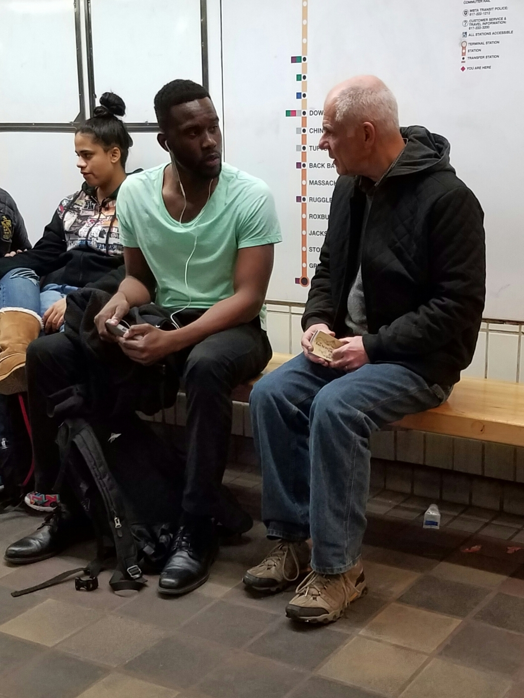 This is Kinsen, a young man who was very interested in talking with Eric about eternal matters. After Eric brought Kinsen through the Law of God, Kinsen paused and said, 'I'm in a predicament.' What a response! We can't receive grace until we know we need it! Kinsen said, 'I don't have a good reason for why God should let me into Heaven.' Eric shared God's saving message with him, and pointed him to the Bible. It's awesome to see what kind of strangers God sends our way! Please pray for this polite and thoughtful young man.