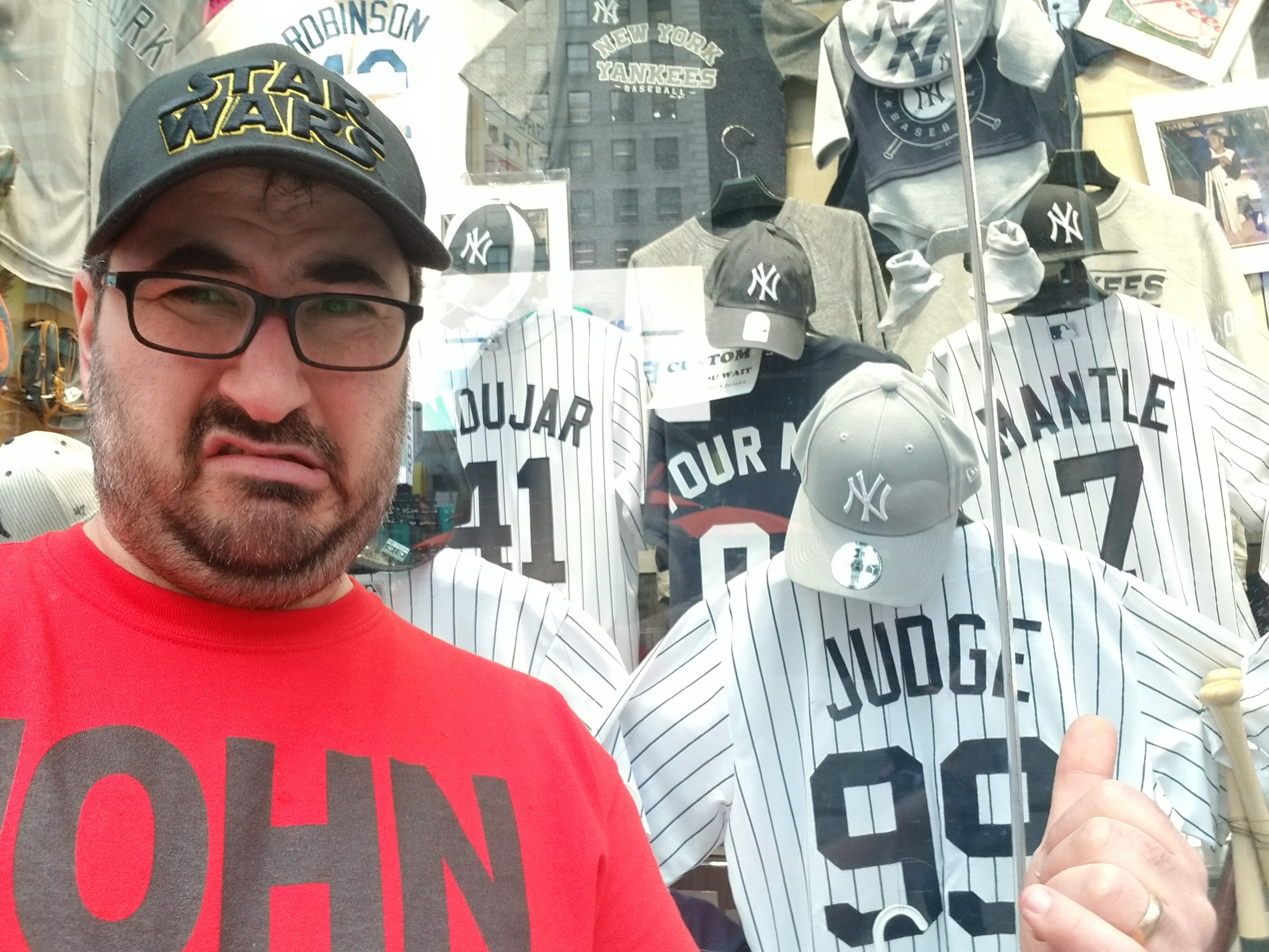 Ew, Yankees stuff! Gross.