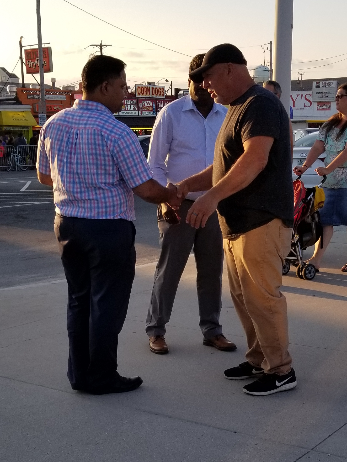 Mike is one of our volunteers. He's SOOO friendly. He loves talking to people about Jesus and his love and concern for them shows very clearly. He's often praying for people and shaking hands and exhorting them to turn to Christ. :)