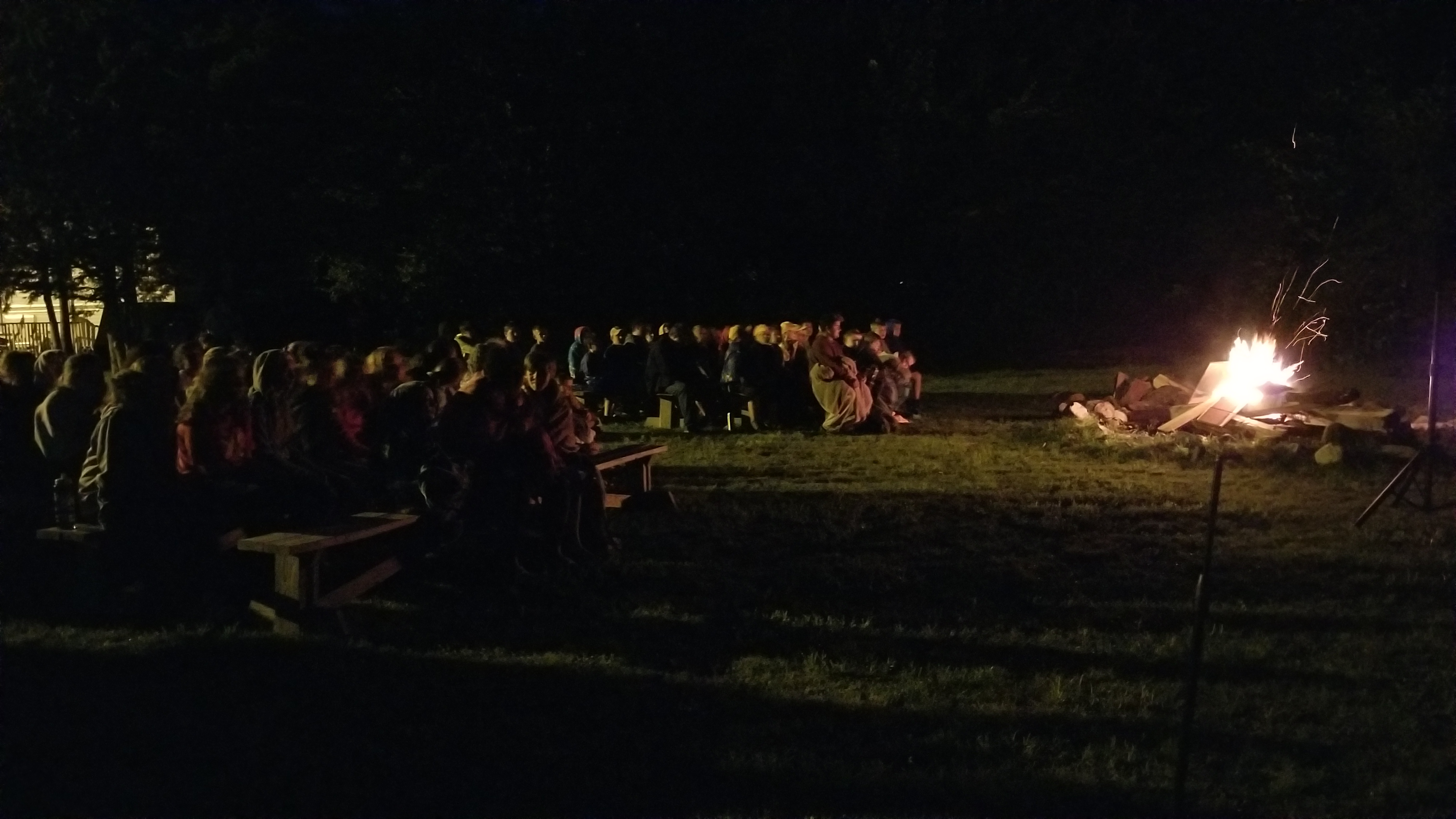 The Friday Evening Campfire Service is always powerful. So many Campers gave tear-filled testimonies of abuse, abandonment, brokenness. A bunch professed faith in Christ!!! A very sobering and powerful service.