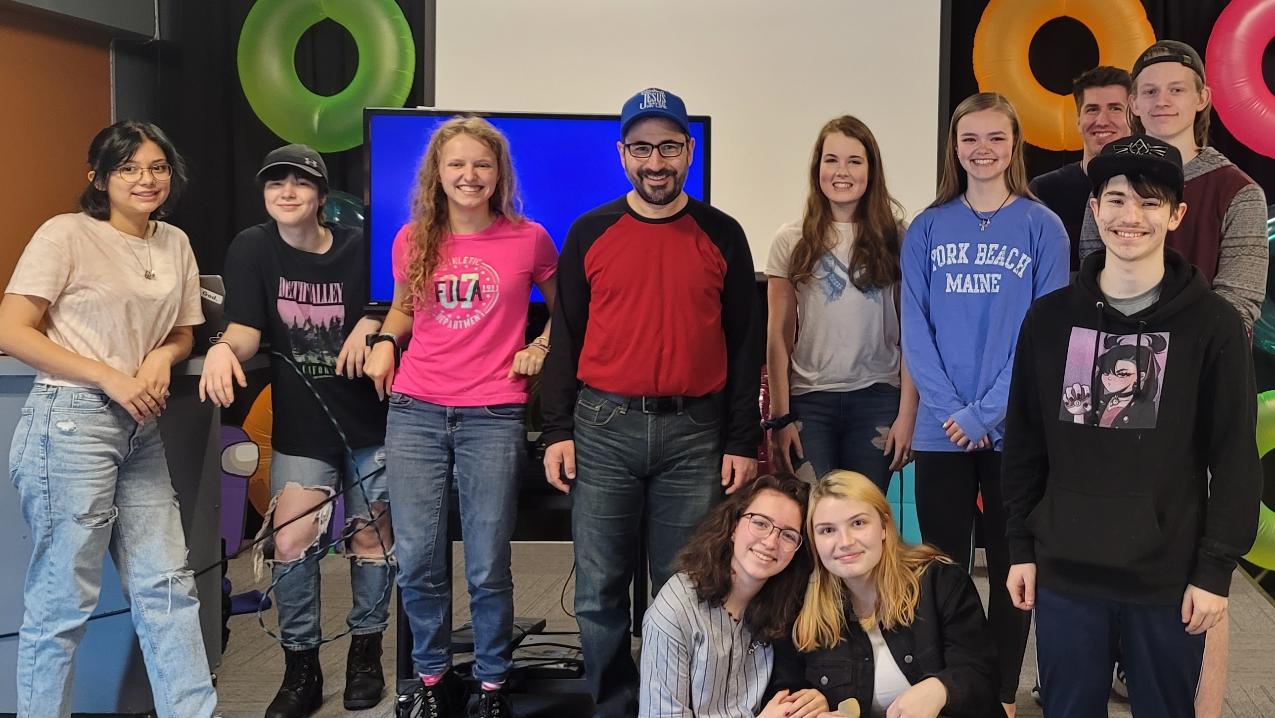 These are the terrific and smart and caring Teens I had the pleasure to teach all term.