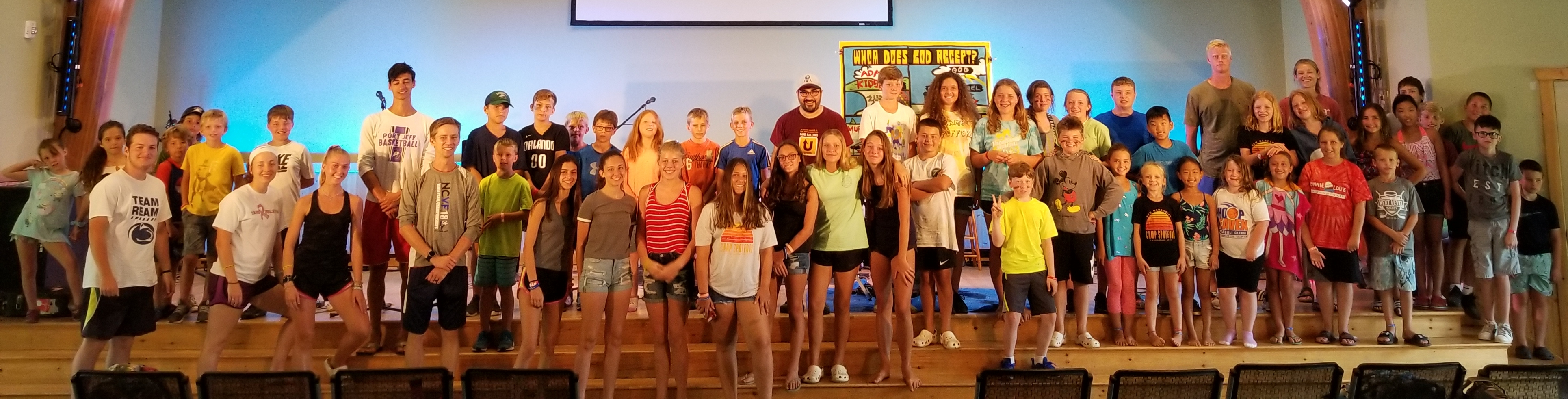 And these are the AMAZING kiddos (and Teen Counselors) I got to teach this amazing week. Let's definitely be praying for this new generation.