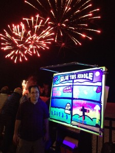 The fireworks in Heaven are MORE amazing when a sinner turns to Jesus! Beach evangelism at night is superb!!!